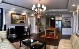 Cho thuê căn hộ tại 36 Hoàng Cầu, Tân Hoàng Minh 134m2, 3PN, đủ đồ view hồ giá 19 triệu/tháng.