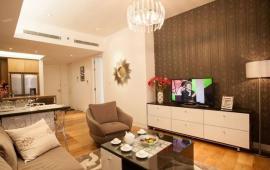 Chính chủ cho thuê căn hộ chung cư Golden Palace Mễ Trì, 4 phòng ngủ full nội thất đẹp, căn góc. LH 0963018158