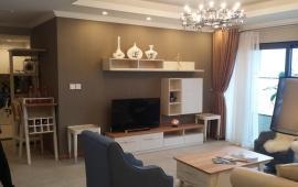 Cho thuê căn hộ tòa Hòa Bình Green Apartment 376 đường Bưởi, Ba Đình, 90m2, 2PN, full đồ, 14 tr/th