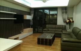 Cho thuê căn hộ chung cư 1111 tại 93 Lò Đúc, 120m2, 3 phòng ngủ, đủ nội thất sang trọng