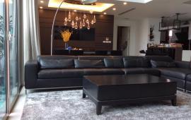 Cho thuê CHCC Hoàng Thành Tower, căn Duplex tầng 19, 234m2, 4 phòng ngủ, nội thất tốt 50 tr/tháng
