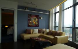 Cho thuê căn hộ Diamond Tower, diện tích 125m2, nội thất tiện nghi sang trọng, 15 tr/tháng