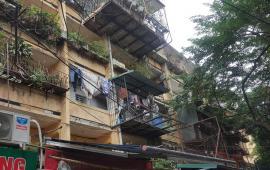 Cho thuê căn hộ tầng 3 tập thể khu C Quỳnh Mai, 52m2, 2PN, 4,5 triệu/tháng