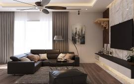 Cho thuê căn hộ 165 Thái Hà, 188m2, 3 phòng ngủ, 40m2 sân vườn, BC Đông Nam, giá 16 tr/th