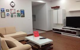Cho thuê căn hộ chung cư 18T1 Trung Hòa Nhân Chính, 1 phòng ngủ, diện tích 65m2, đủ đồ