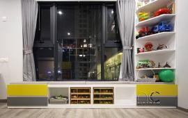 Căn hộ cao cấp 2 phòng ngủ, tầng cao, nội thất xịn cho thuê tại Hòa Bình Green, Bưởi