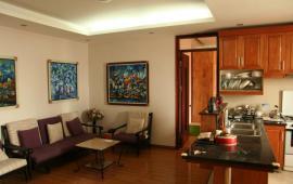 Số 6 Đội Nhân cần cho thuê căn hộ chung cư 2PN, đầy đủ đồ vào ở ngay, giá: 10tr/th