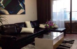 Cho thuê căn hộ chung cư Golden Land Hoàng Huy, 111m2, 2 phòng ngủ, nội thất full đẹp, 12 tr/th