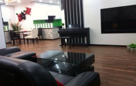 Cho thuê căn hộ chung cư Golden Land tòa Hoàng Huy, 132m2, 3 phòng ngủ, đủ đồ sang trọng