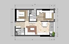 Căn hộ 2 phòng ngủ Mỹ Đình full nội thất từ 1,68 tỷ/căn LH:0971121296
