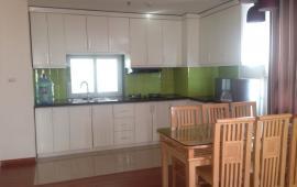 Cho thuê căn hộ 27 Huỳnh Thúc Kháng, DT 110m2, 3 PN, có đồ, giá thuê 12tr/th