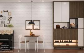 Cho thuê căn hộ Green Park, DT 106m2, 3 phòng ngủ, đủ đồ, giá 13 tr/tháng