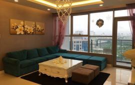 Cho thuê chung cư Thăng Long Number one, tòa B, 130m, 3 phòng ngủ, đủ đồ, 19  triệu/tháng