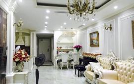 Cho thuê chung cư Thăng Long Number One, tòa A, 143m2, 3 phòng ngủ, đủ đồ, 22 triệu/ tháng