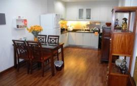 Cho thuê CHCC Hòa Bình Green City, 72m2, thiết kế 2 phòng ngủ, 2 vệ sinh, nội thất đầy đủ