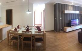 Cho thuê căn hộ 2PN Golden Palace Lê Văn Lương tầng 19, đủ nội thất 15triệu/tháng, LH: 0936388680