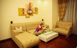 Cho thuê căn góc chung cư N07 Dịch Vọng (sofa nhập khẩu sang trọng, 120m2) Đông Nam - ảnh thật