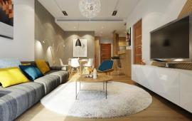 Cho thuê căn hộ chung cư Hòa Bình Green City, 108m2, thiết kế 3 phòng ngủ, 2WC, nội thất đầy đủ
