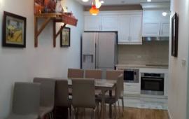 Cho thuê chung cư 93 Lò Đúc, 100m2, 2 phòng ngủ, đủ đồ 13 tr/th, không đồ giá 12 tr/th (đang trống)