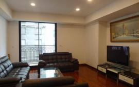 Cho thuê căn góc 132m2 chung cư Golden Land hoàng huy 275 Nguyễn Trãi đồ mới thiết kế đồng bộ.