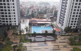 Cho thuê CC Goldmark City-136 Hồ Tùng Mậu, 120m2, nội thất phong thủy (nhà vượng khí) view bể bơi