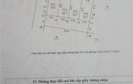 (0942071991) Bán gấp lô đất 60m2 mặt ngõ 268 Ngọc Thụy,Long Biên,Hà Nội