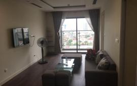 Cho thuê căn hộ chung cư Five Star 105m2, 3PN, 2WC, full nội thất giá 13 tr/tháng.