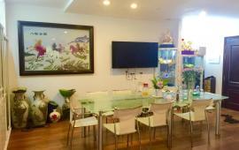 Cho thuê căn hộ cao cấp tại chung cư D2- Giảng Võ, Ba Đình 123m2, 3PN giá 17triệu/tháng.