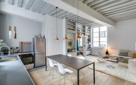 Cho thuê căn hộ tại 187 Tây Sơn 90m2, 3 pn, 2 vs, full nội thất