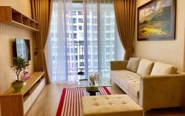 Cho thuê căn hộ 2 phòng ngủ full nội thất chung cư Five Star Kim Giang, tầng cao, ban công Đông Nam
