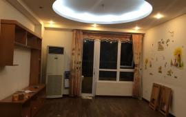 Cho thuê căn hộ đủ đồ chung cư Nam Trung Yên, 3 phòng ngủ, đủ đồ sẵn ở giá 12 tr/tháng