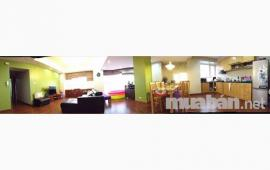 Cho thuê căn hộ 57 Láng Hạ, diện tích 122m2, 2PN, nhà đầy đủ nội thất để ở, giá 15 triệu/tháng