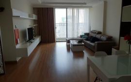 Cho thuê chung cư Richland Southern - Xuân Thủy. Căn góc tầng 20, 123m2, 3PN, đủ nội thất