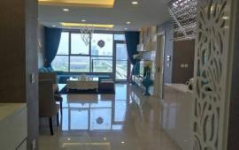 Cho thuê căn hộ 120m2 tại tháp A chung cư Golden Place, tầng cao, căn góc, đủ nội thất