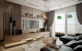 Cho thuê căn hộ R1 Royal City dt 126m2, 2PN full nội thất giá 19 triệu/tháng