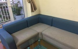 Cho thuê căn hộ chung cư đầy đủ đồ, đẹp, thoáng mát tại KĐT Việt Hưng, DT 100m2, giá 7tr/th
