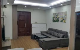 Cho thuê căn hộ đầy đủ nội thất đẹp tại Goldmark City, 136 Hồ Tùng Mậu, 2PN, 2WC, giá 11tr/tháng