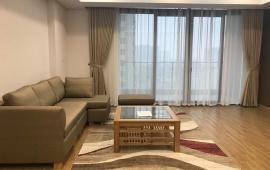 Cho thuê CHCC Golden Palace Mễ Trì, 3 ngủ full đồ, 128m2 view đẹp, ban công rộng, tầng cao Lh 0904.56.57.30