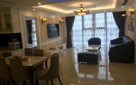 Cho thuê căn hộ chung cư Golden Palace, 120m, 3 phòng ngủ, nội thất đồng bộ (khách Nhật vừa hết hđ)