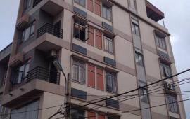 Cho thuê nhà nguyên căn mặt đường tổ 12 phố Mậu Lương , Hà Đông, DT:65m2x6tầng, 9PN, full đồ, giá 20tr/tháng