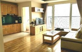 Cho thuê căn hộ chung cư Phú gia  số 3 nguyễn huy tưởng 98m 2 ngủ đủ đồ đẹp giá 12tr, Lh 012 999 067 62