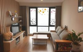 Cho thuê căn hộ 2PN, đủ đồ và không đồ, view sông Hồng thoáng mát tại Mipec Riverside