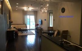 Cho thuê căn hộ cao cấp tại chung cư D2 Giảng Võ, Ba Đình, 110m2, 2PN, đồ cơ bản 17 triệu/tháng