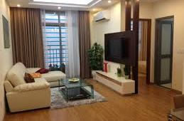 Căn hộ chung cư B5 Làng Quốc Tế Thăng Long 2PN, đủ đồ, giá 8 tr/tháng