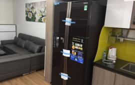 Cho thuê căn hộ chung cư Tháp Tây Làng Quốc Tế Thăng Long 2P ngủ đầy đủ đồ vào ở ngay.