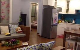 Cho thuê căn góc tầng thấp, chung cư 165 Thái Hà 120m2, 3PN, đủ nội thất, 13.5 tr/th