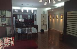 Cho thuê căn hộ cao cấp tại chung cư 27 Huỳnh Thúc Kháng 130m2, 3PN, gần đủ đồ, giá 13 triệu/tháng