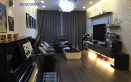 Cho thuê CHCC Golden Palace tòa B, tầng 22, 118m2, 3 PN, đủ nội thất, 20 triệu/th. LH 0904.56.57.30