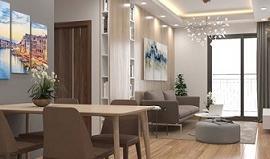 Cho thuê căn hộ penthouse dự án Vinaconex 7. 190m2, 3 phòng ngủ, đồ cơ bản, 17 tr/th