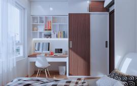 New Horizon căn hộ chung cư 87 Lĩnh Nam, căn góc đẹp cần cho thuê đủ đồ, giá 8 tr/th, LH 0886481245